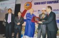 Kaiser Tamiz Amin, MD & CEO of GSPB received the ICMAB award 2013 from Finance Minister AMA Muhith.